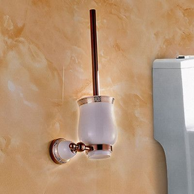Chinese style Ceramic Rose Gold Bath Hardware Bathroom Accessories ...