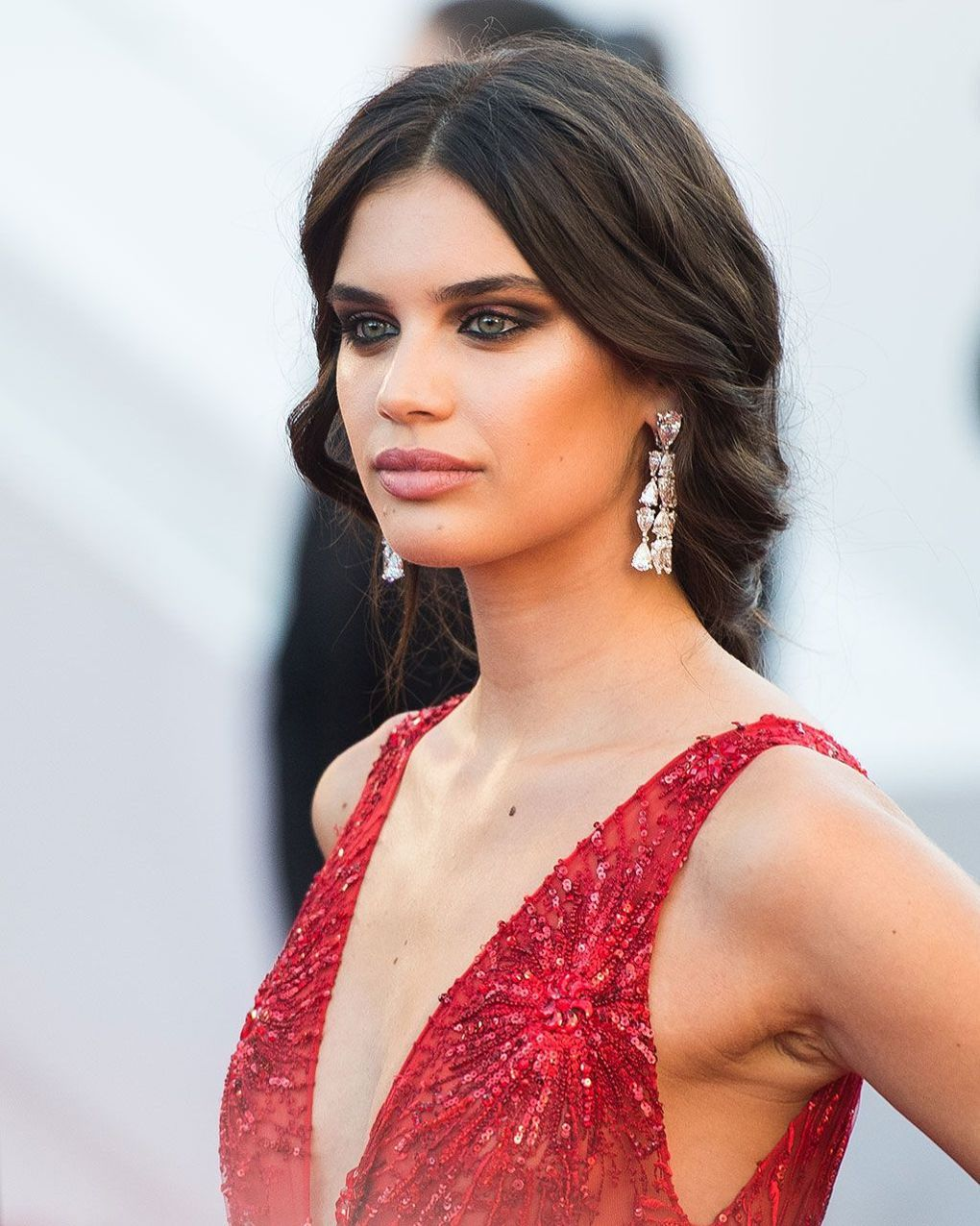 Cannes redcarpet beauty hair u makeup pinterest makeup