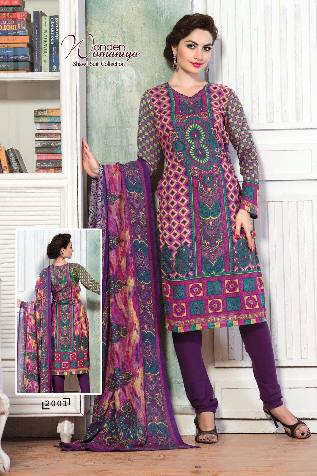 Trendy Full Sleeves Casual Suit with Rich Digital Print