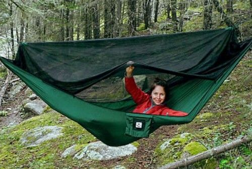 Hammock Bliss No See Um No More Green One Size Backpacking Hammock Hammock Camping Hammock Tent
