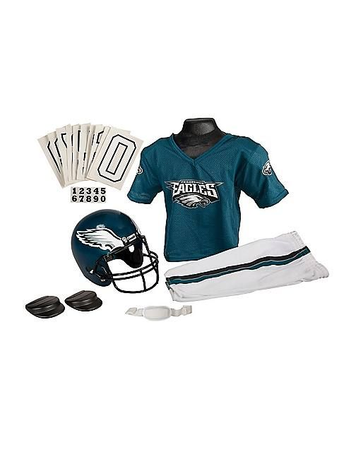 35c6949236a NFL Eagles Childs Helmet and Uniform Set