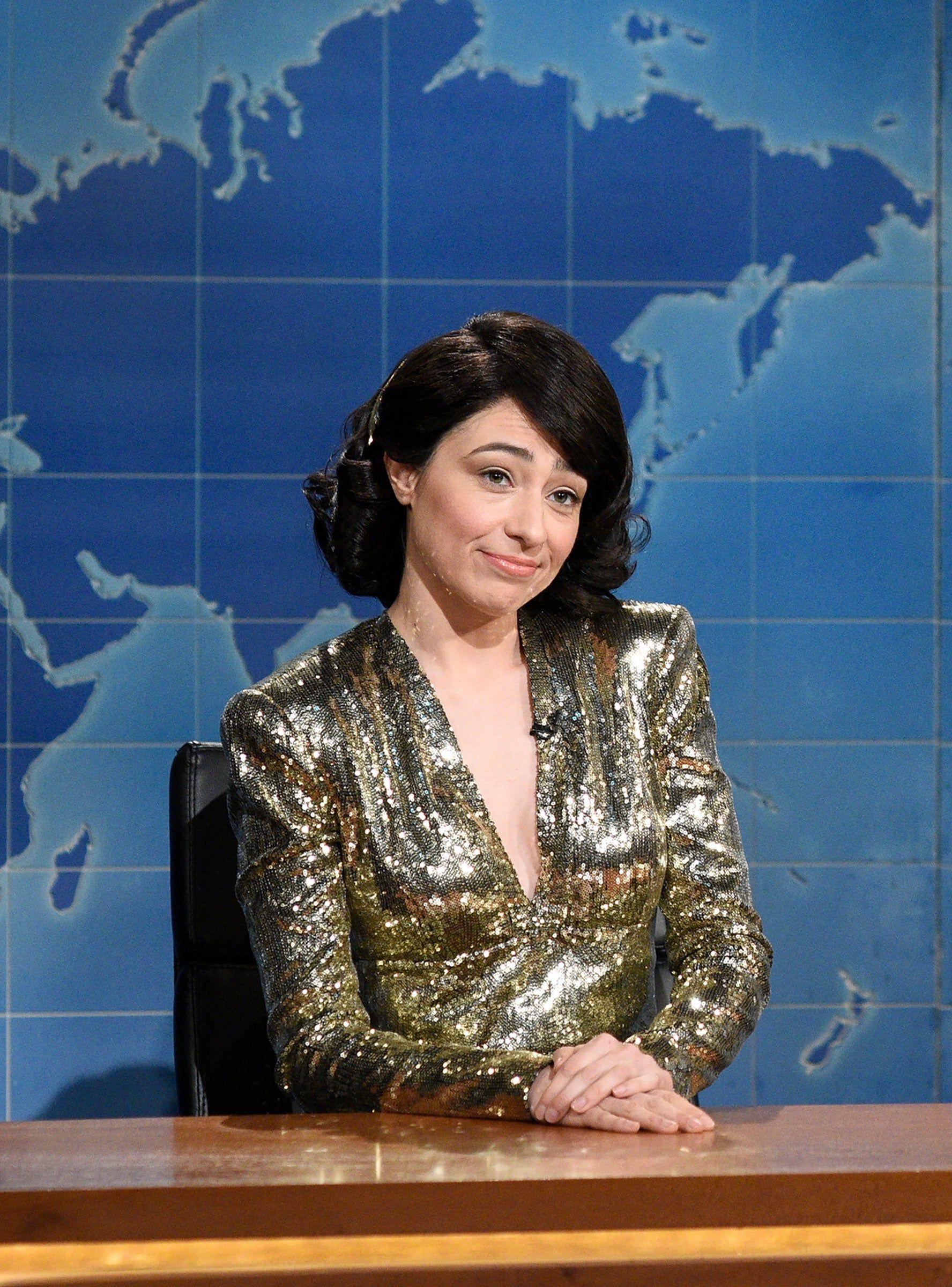 SNL's Melissa Villaseñor Roasted The Oscars For Rewarding