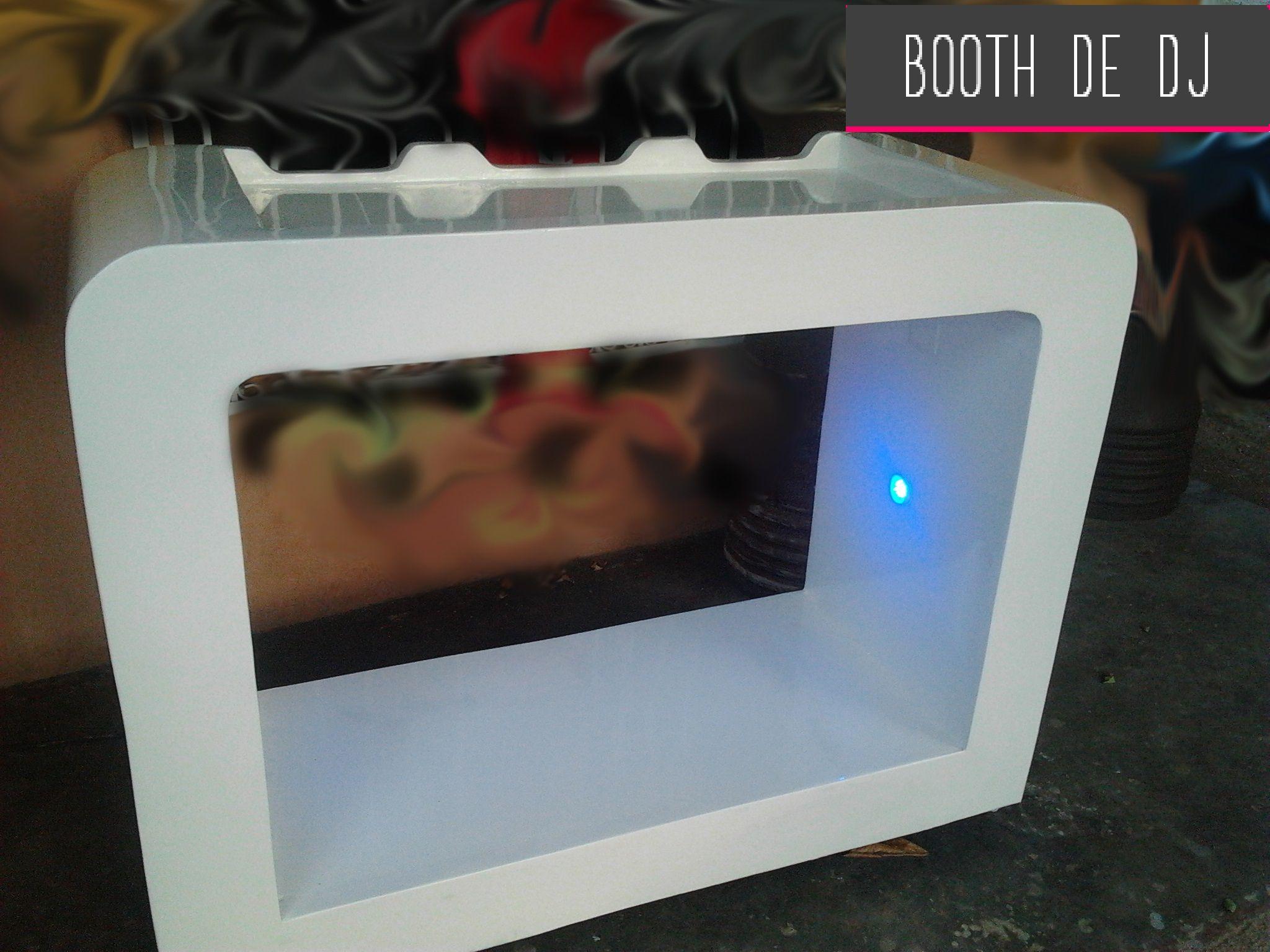 Booth de DJ en fibra de vidrio de exterior. Fiviclass