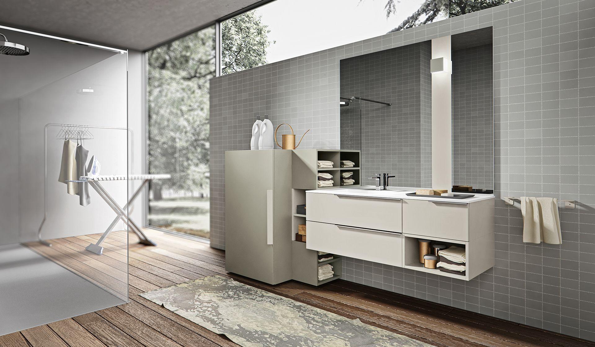 mobili arredo bagno moderni: giunone - agoràgroup - edoné design ... - Arredo Bagno Pozzuoli
