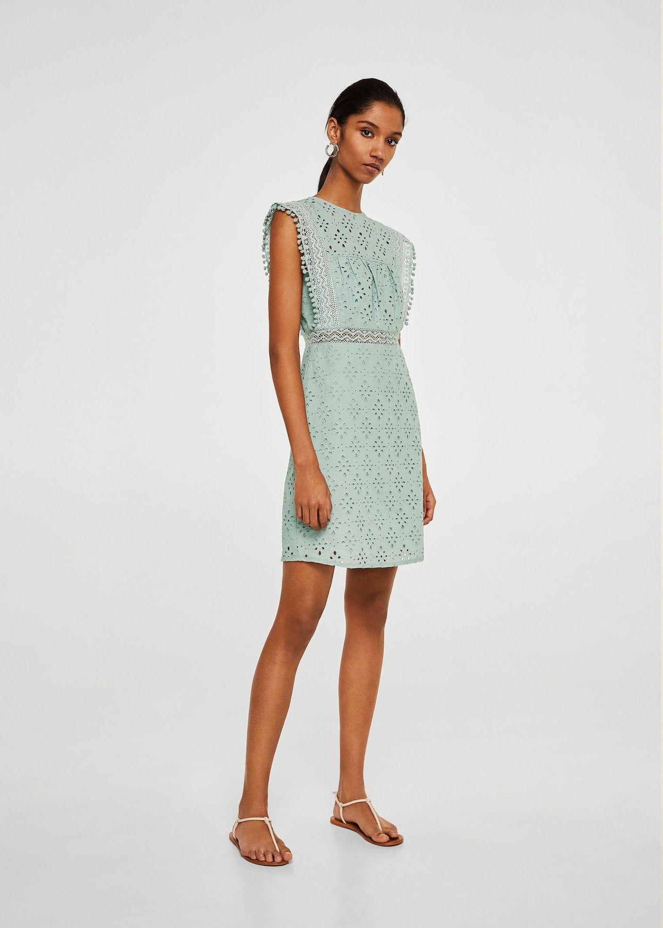 Delikli Koton Elbise Kadin Dress In 2019 Dresses Cotton Dresses Day Dresses