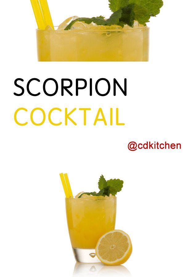 Scorpion Cocktail Recipe Rum Cocktail Recipes And Recipes