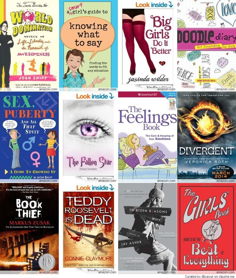 Best Books For Teenage Girls 2014  Reading List  Kids Story Books, Books, Book Girl-7811