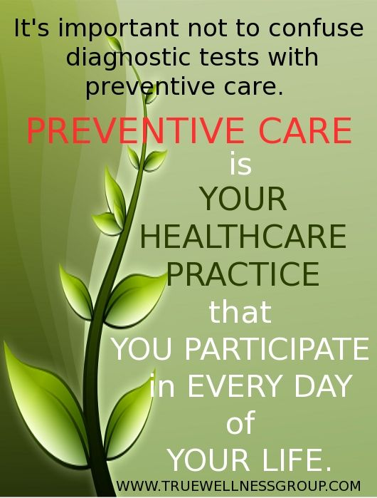 Preventive health care quotes