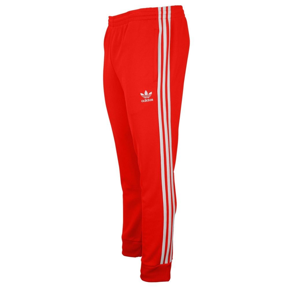 new arrival 95e1d ccf82 NWT Boy s Adidas Originals Superstar track Pants Bright red Sz Large  adidas   AthleticSweatPants  Everyday