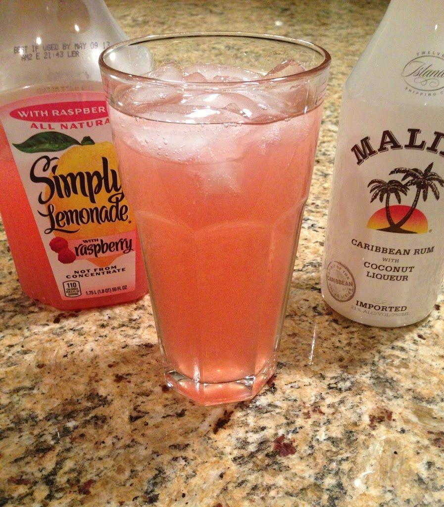 Raspberry Lemonade Cocktail | The Cookin Chicks | Drinks | Pinterest ...