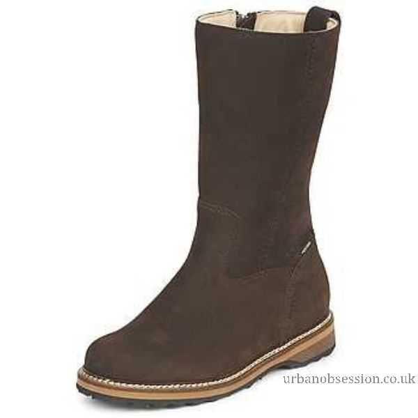 Snow Meindl Boots Design Goldegg Lady Women Dark By Gtx Brown RHw17q0