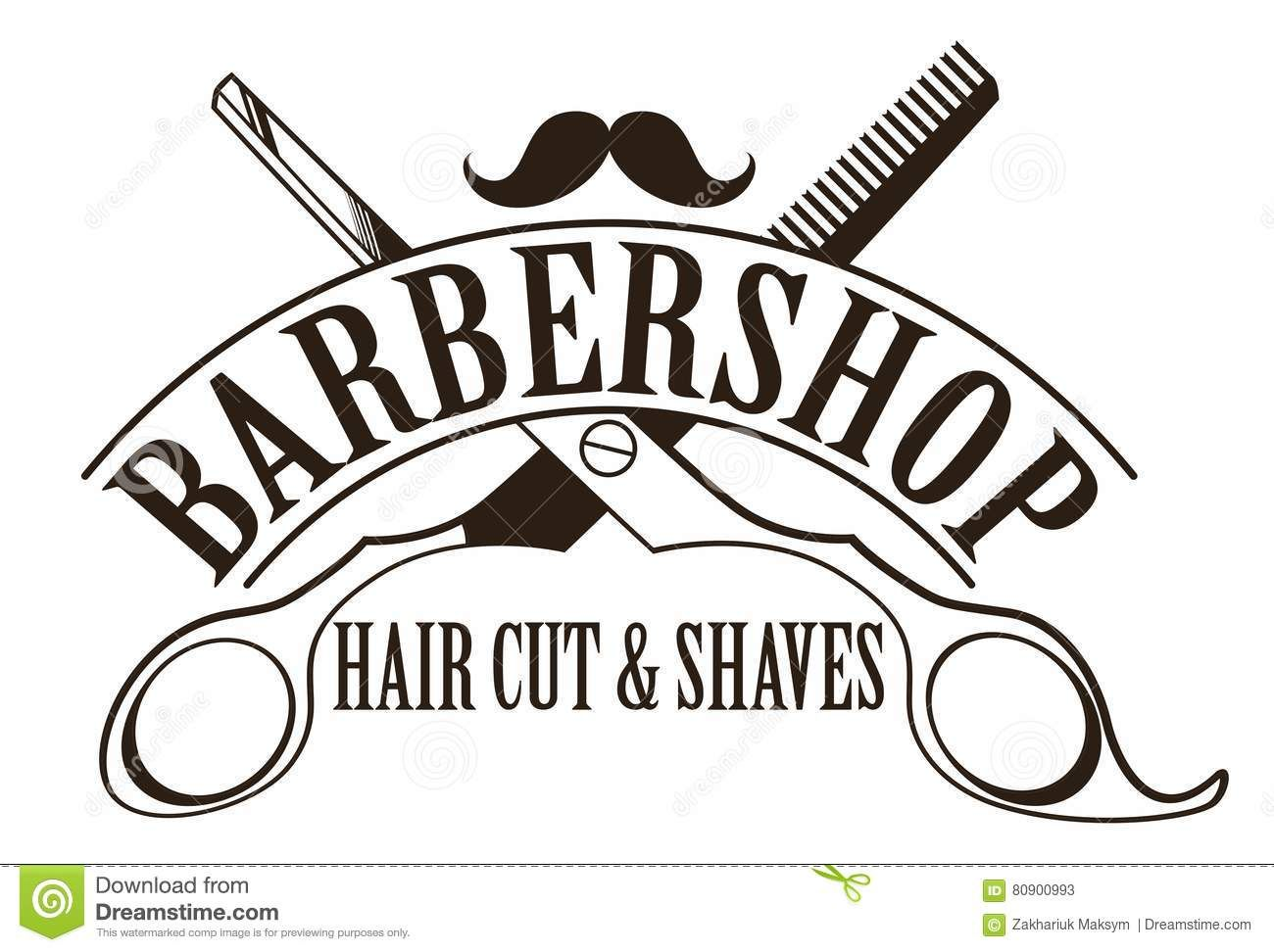 Image result for barber shop logo | barbas | Pinterest ...