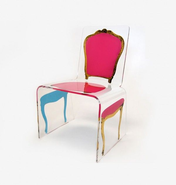Louis Chair For Jr Studios Modern Acrylic Furniture By Aaron R