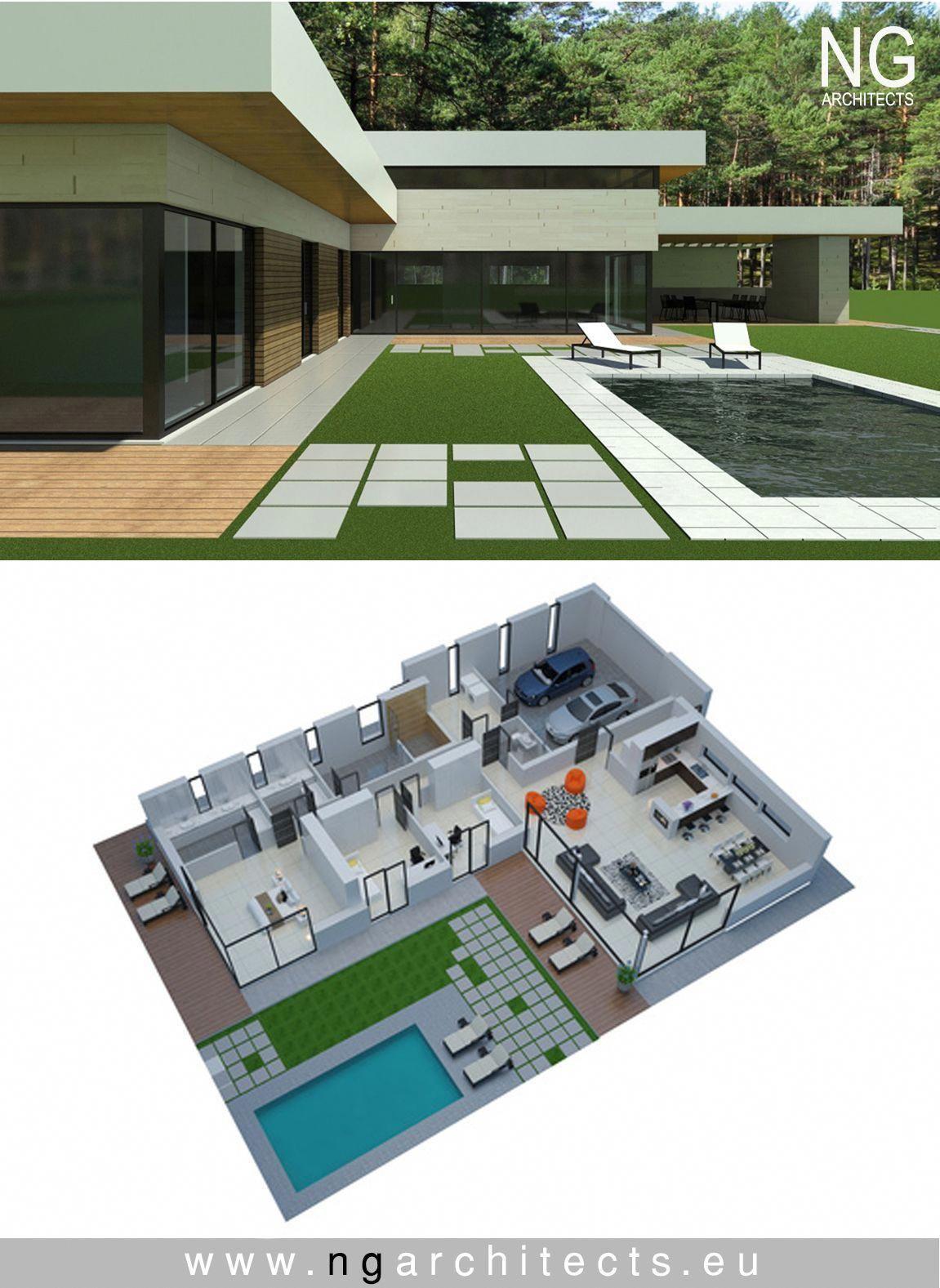 Modern Mini Bar Design For Home Modernhomedesign Modern House Plans Modern Bungalow House Modern House Design