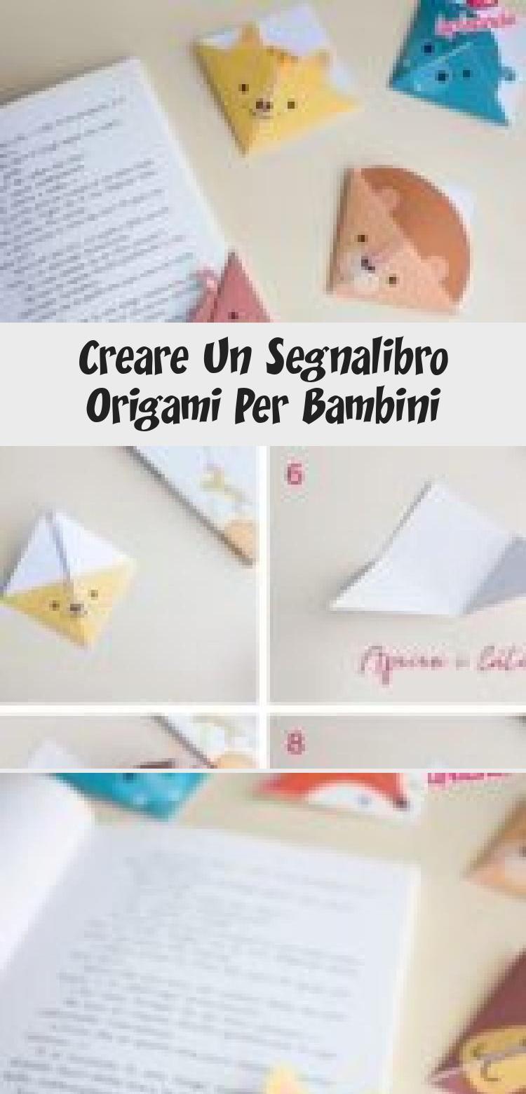 Photo of Erstellen Sie ein Origami-Lesezeichen für Kinder DIY Origami Lesezeichen für Kinder …