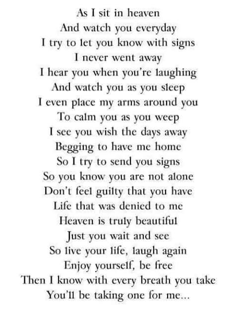 Looking Down From Heaven Palabraswords Pinterest Quotes Miss