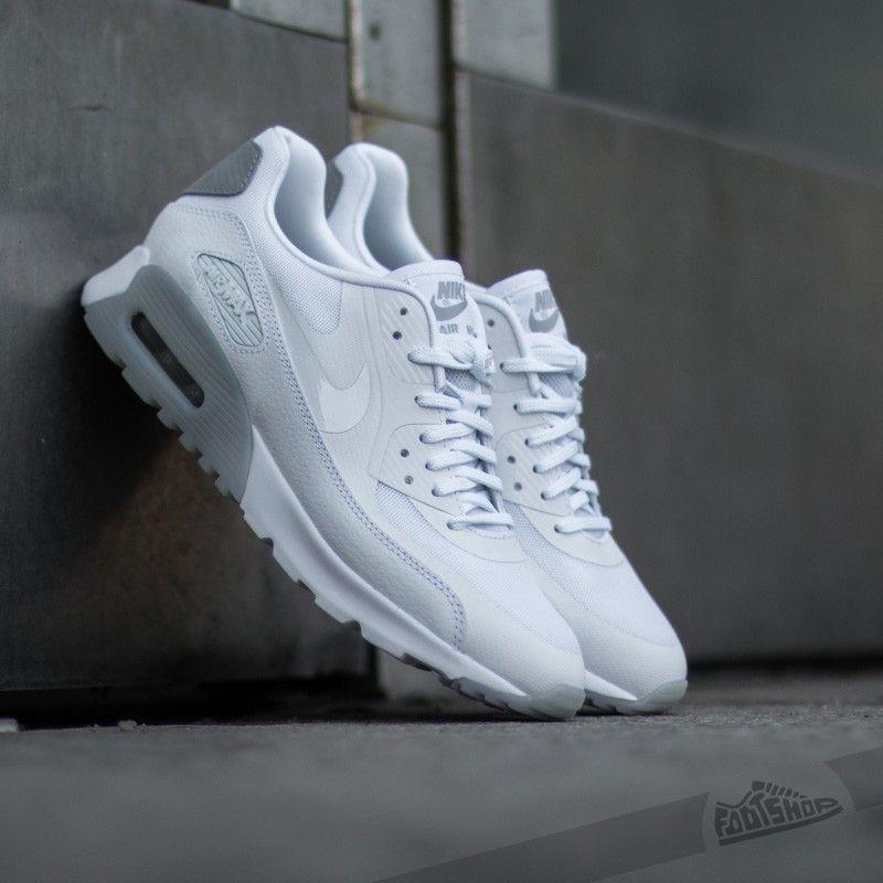 Nike W Air Max 90 Ultra Essential White/ Wolf Grey/ Silver - Footshop