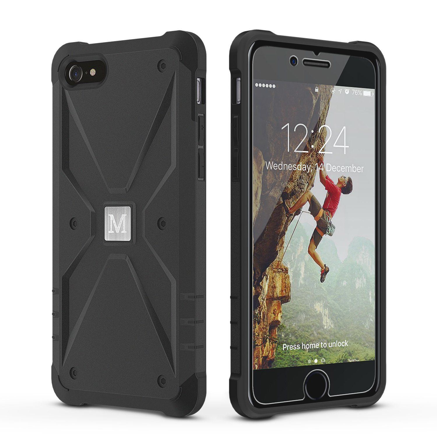 iphone 8 case shockproof and screen protector