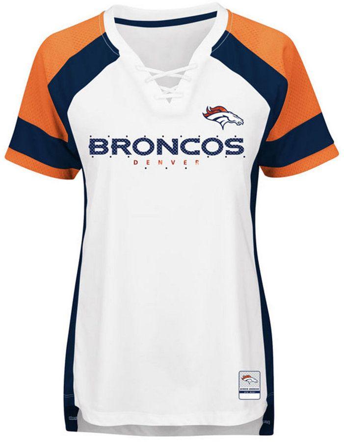 87de878c Majestic Women's Denver Broncos Draft Me T-Shirt   Products in 2019 ...