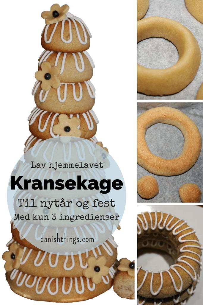 Kransekage Opskrift Opskrifter Kager Cookies Kage