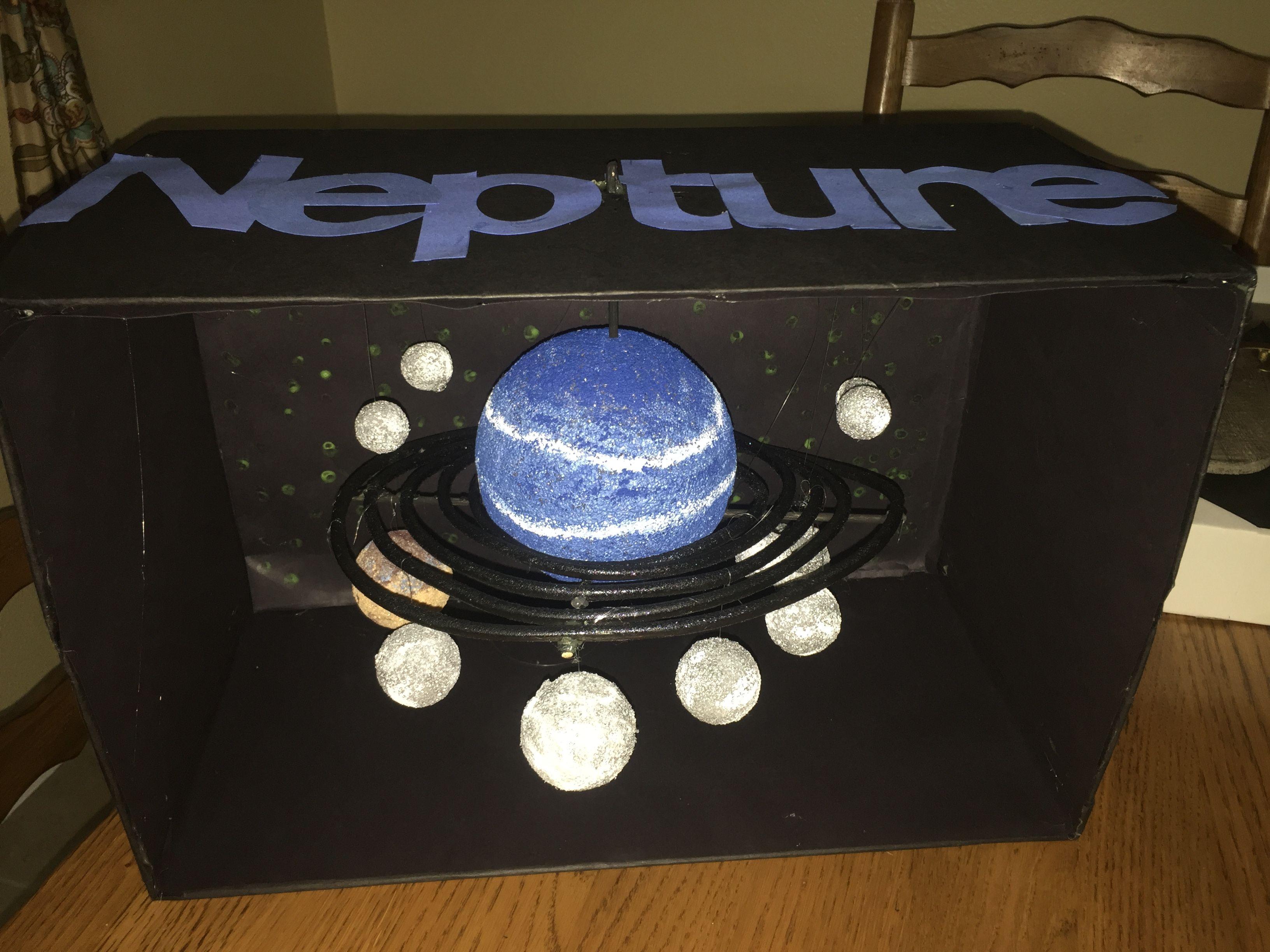 Neptune Neptune ideas School science projects Solar