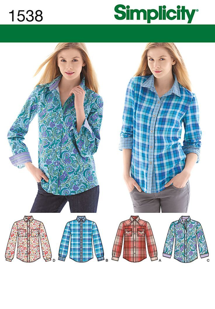 efa53e7b6b Simplicity Creative Group - Misses  Button Front Shirt