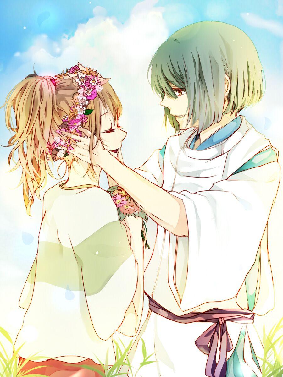 Haku & Chihiro - Spirited Away <3