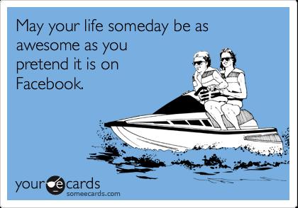 livin' life online.