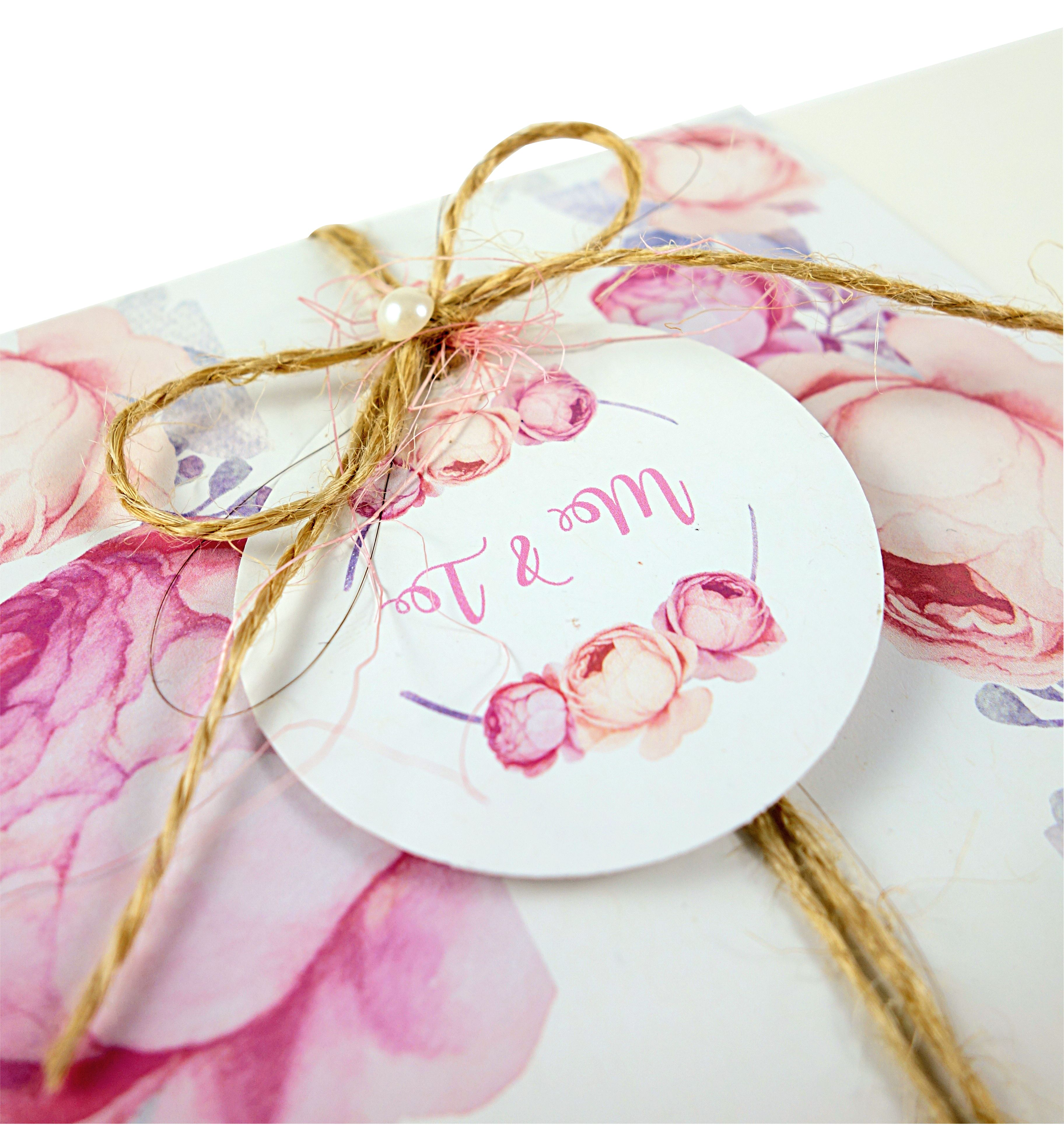 Einladungskarte aus dem Set Vintage Rose, Wedding invitation ... - Einladungskarten Hochzeit Rosen