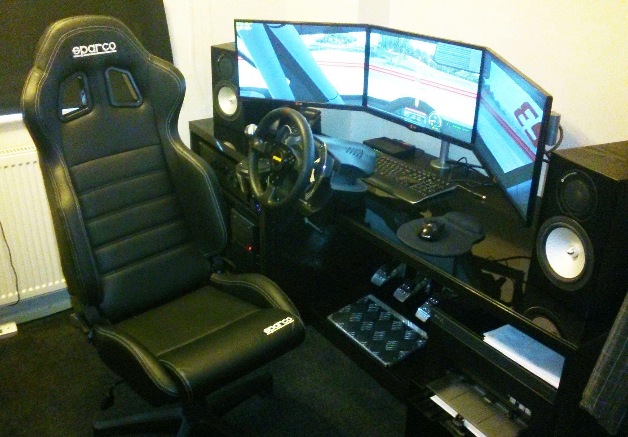 Sparco R100 Vinyl Racing Office Sports Seat | GSM Simulators