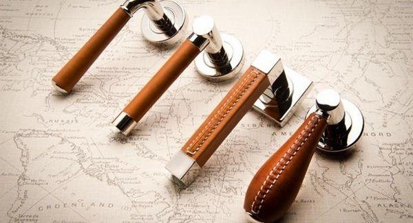 20 leather door handles – original design and functionality