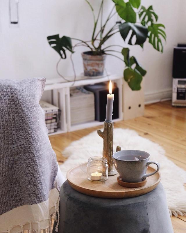 Herbststimmung 🍁🍂 #deko #wohnzimmer #pflanzen #herb... | Living ...