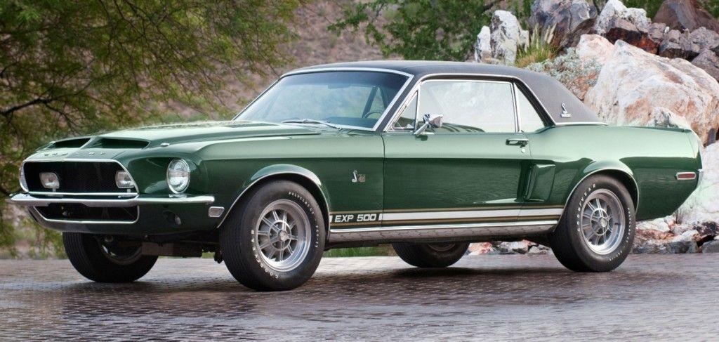 Shelby Mustang Green Hornet Prototype Favorite Cars
