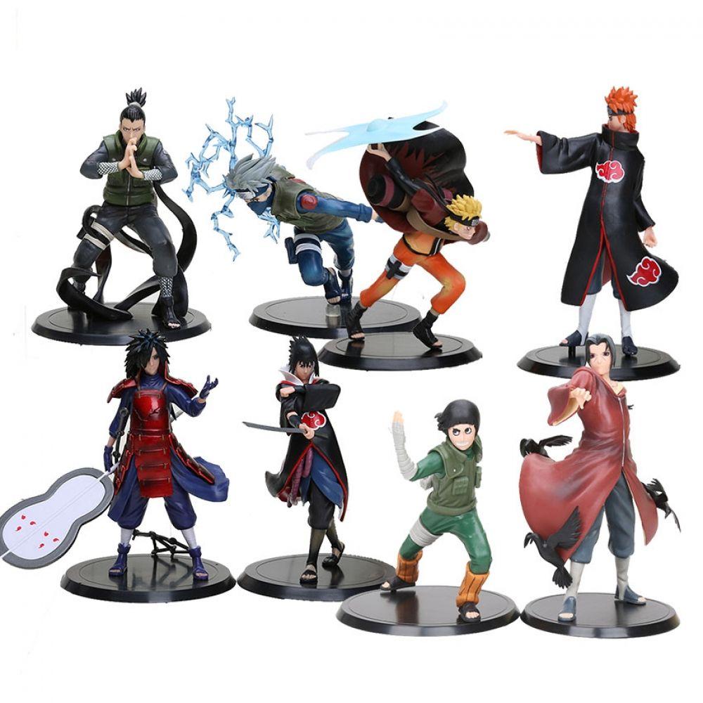 Set Of 2 Naruto Action Figures Action Figure Naruto Naruto