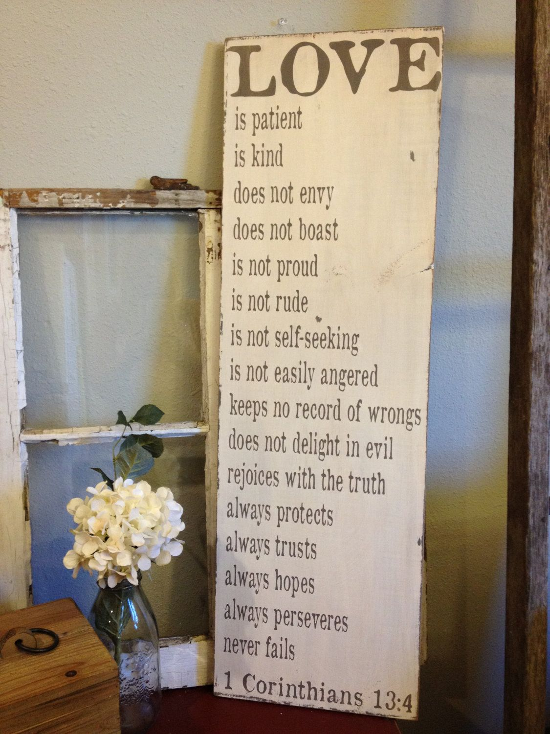 Love Is Patient Love Is Kind Quote Love Is Patient Love Is Kind  1 Corinthians 13  Lovely Wedding