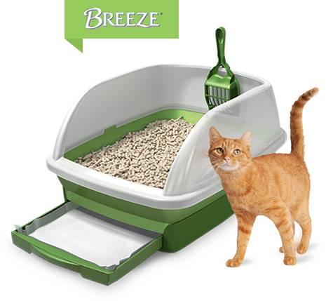 Pellet Litter Box Tidy Cats Breeze Cat Litter Box System Chewy Com In 2020 Tidy Cats Cat Litter Cat Litter Box