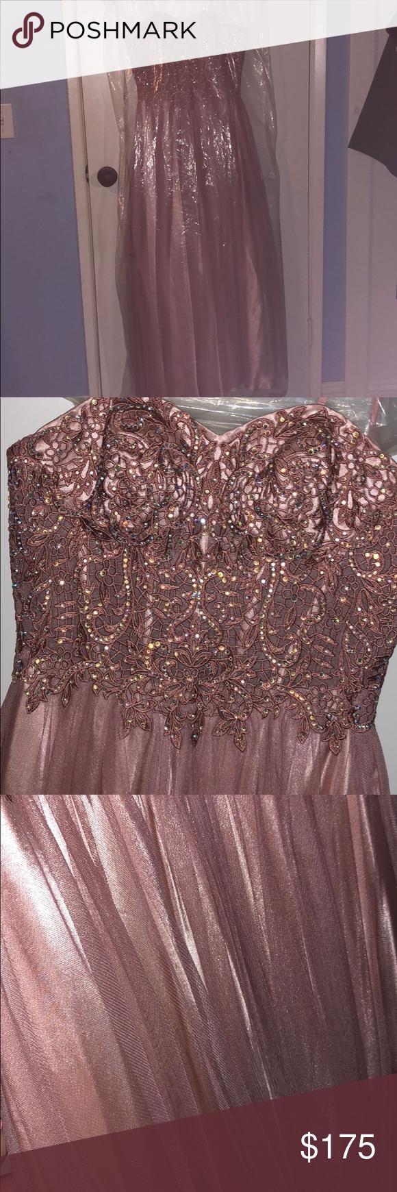 Blondie nites pink prom dress my posh picks pinterest blondies