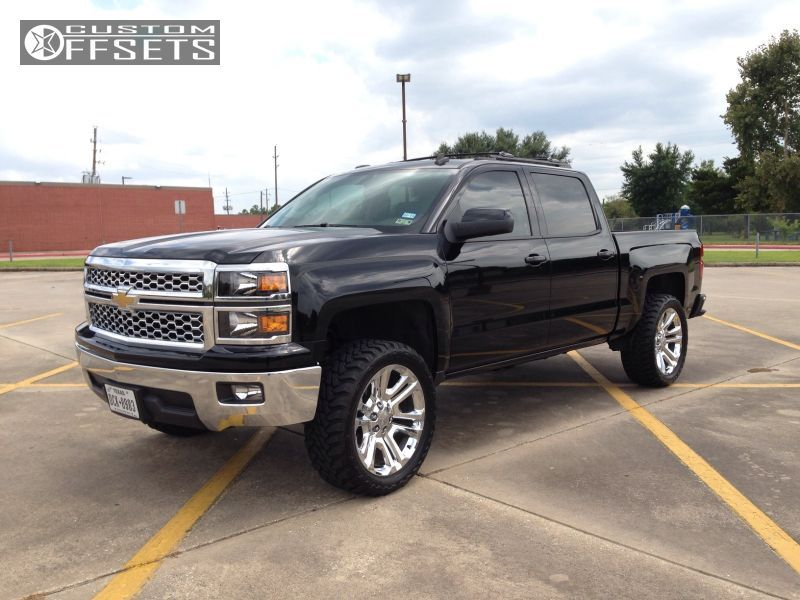 4 2014 Silverado 1500 Chevrolet Suspension Lift 3 Oem Chevrolet Ck 158 Chrome Aggressive 1 Outside Fend 2014 Chevrolet Silverado 1500 Silverado Chevy Silverado