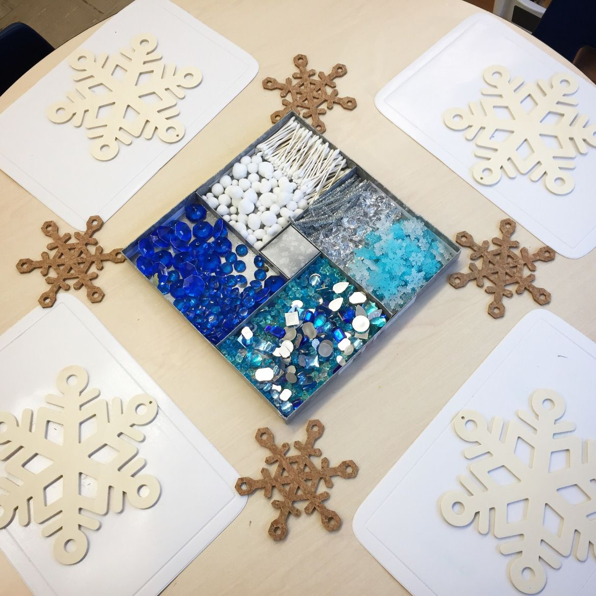 Snowflake Loose Parts
