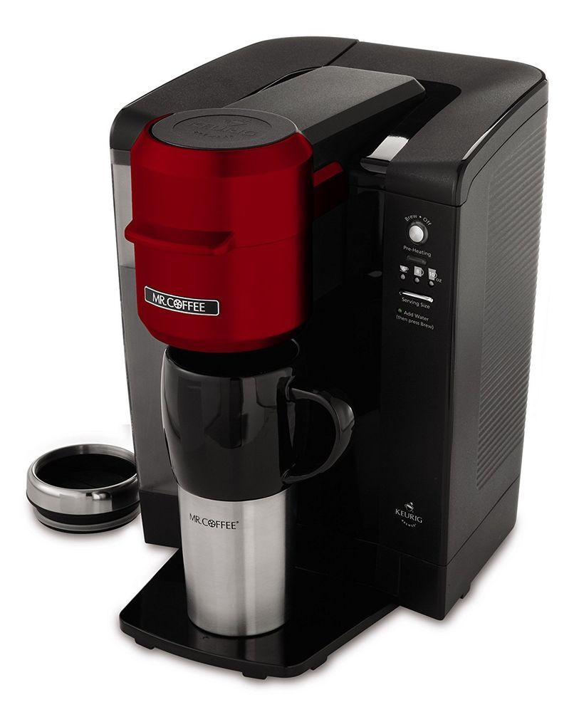 Coffee Maker Single Serve Brewer Machine 3 Cup Size Automatic K Cups
