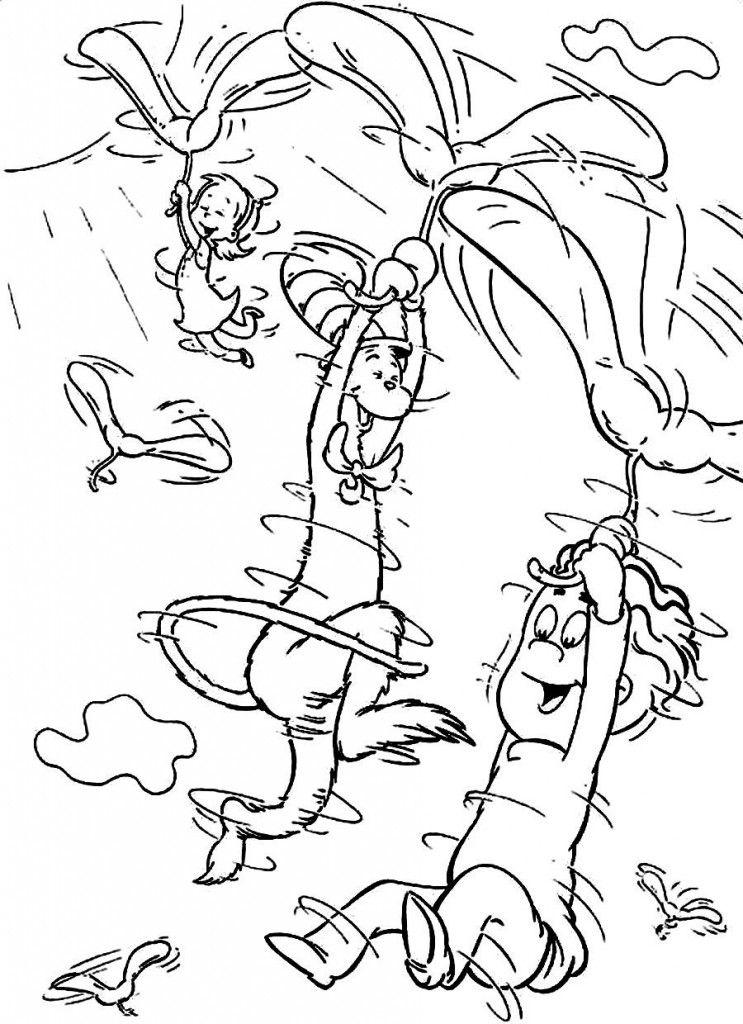 Dr Seuss Coloring Pages for Kids  Free Printable Dr Seuss