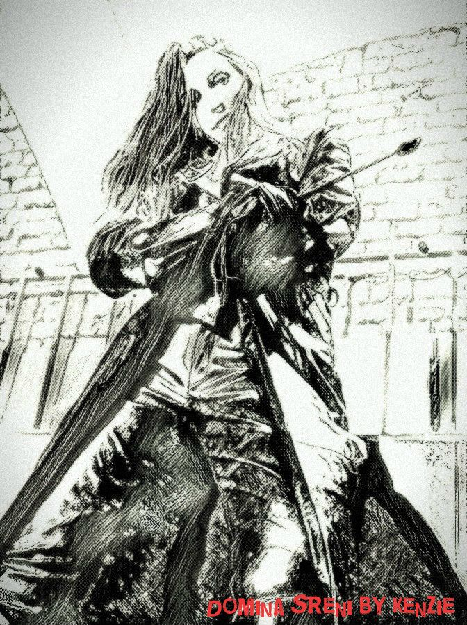 Illustrations of femdom