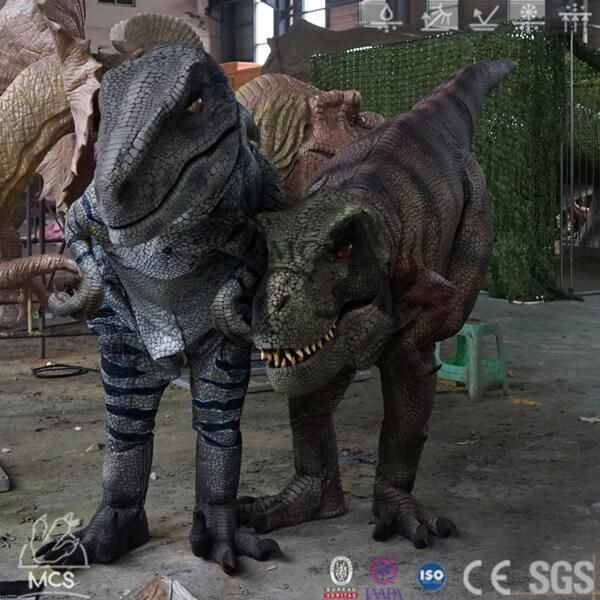 Cover Legs Animatronic T-Rex Costume-DCTR638 In 2020