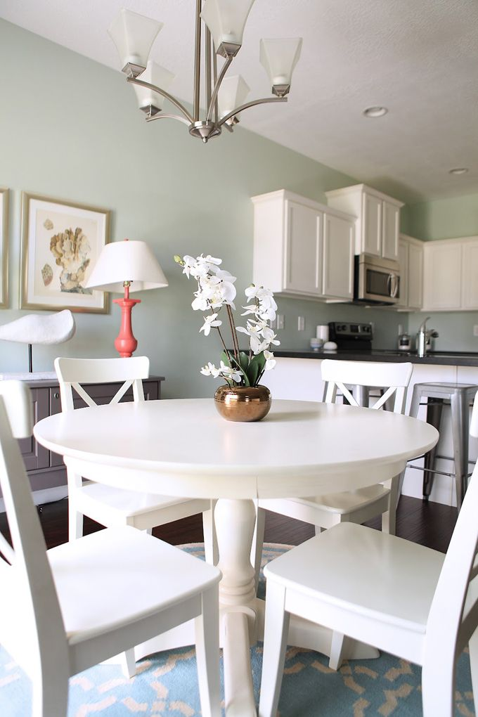 House of Turquoise: Living Room. Benjamin Moore: Palladian ...