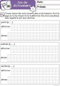 Chercher Dans Le Dictionnaire Ce1 : chercher, dictionnaire, Erreur, Petit, Cartable, Sanleane, Dictionnaire,