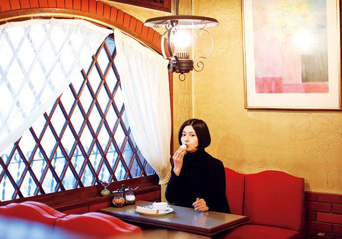 Akko 菊池亜希子の 好きよ 喫茶店 マガジンワールド 喫茶店 菊池亜希子 レトロ カフェ