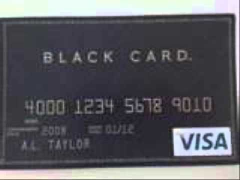 Fed Black Card Youtube Black Card Paying Bills Online Self