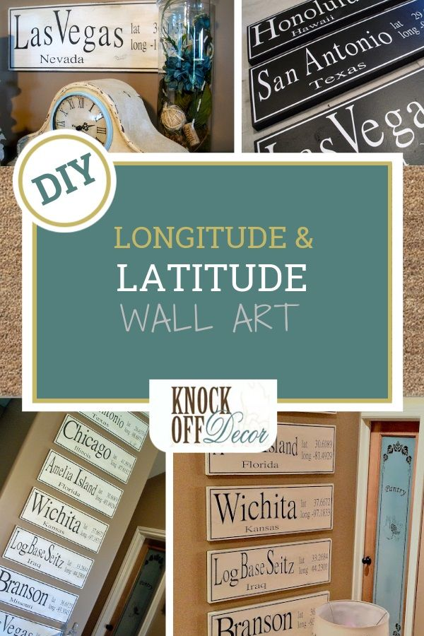 Latitude and Longitude Signs images