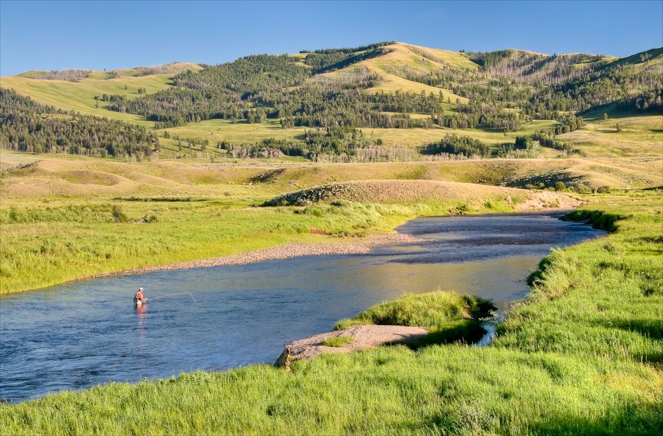 Slough creek yellowstone national park fly fish for Yellowstone national park fishing