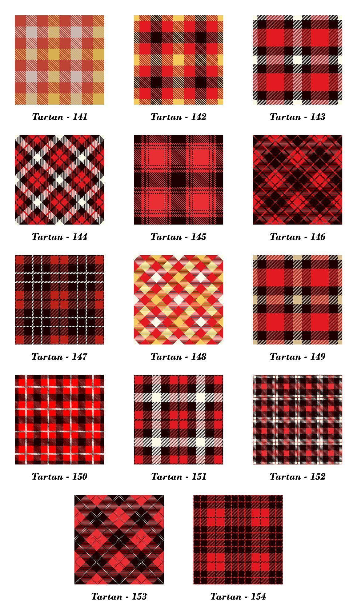 Seamless  Tartan Pattern Part -11   by Vectorchoice on @creativemarket